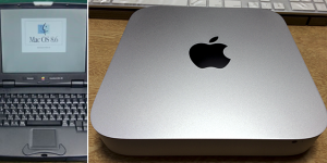 PowerBook2004とMac mini/2012