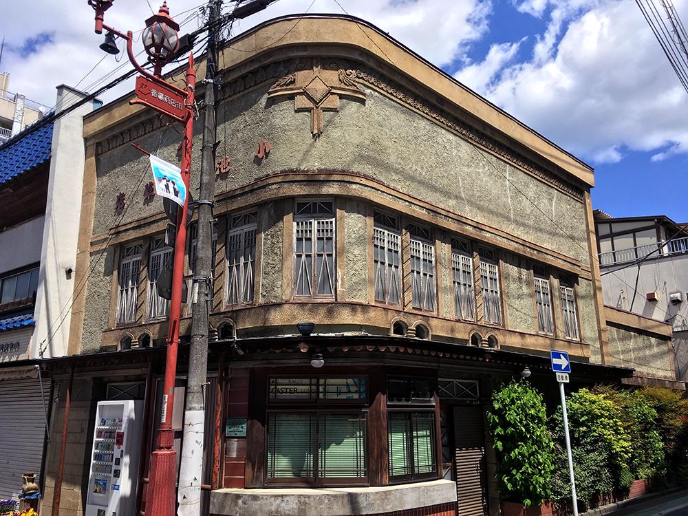 秩父市内の古い建物