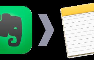 Evernoteからメモアプリへ