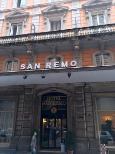 宿泊したホテル「SAN REMO」