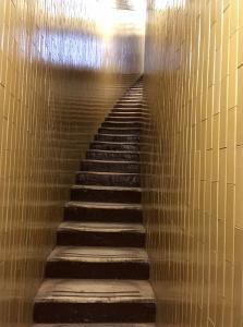 サン・ピエトロ大聖堂の天井部分からクーポラへの階段。ここはなだらか