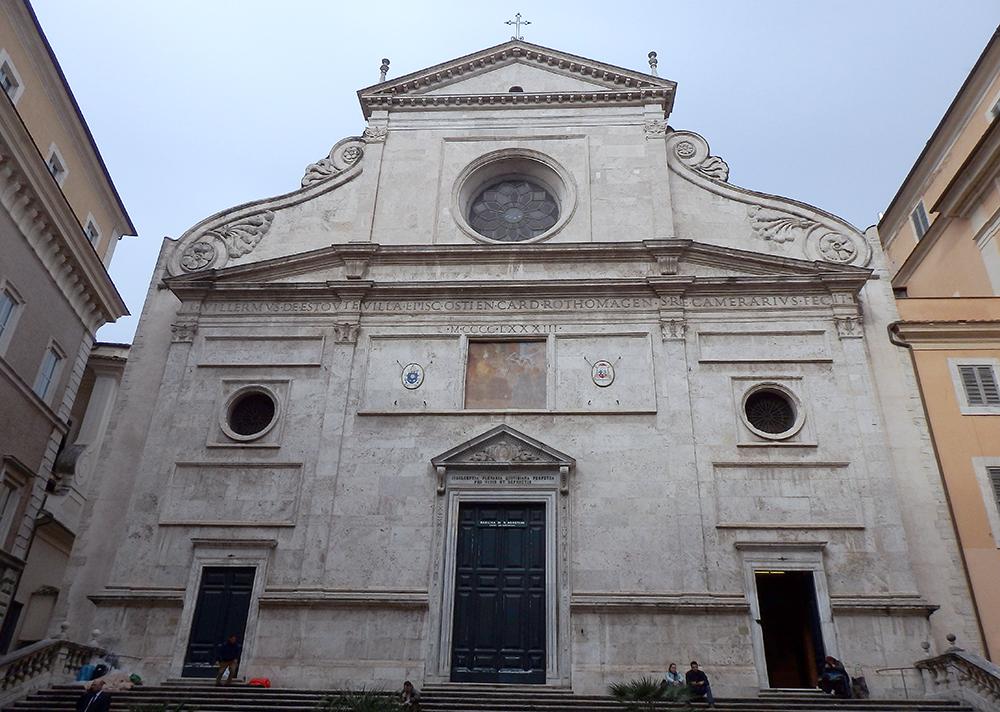 サンタ・ゴスティーノ教会