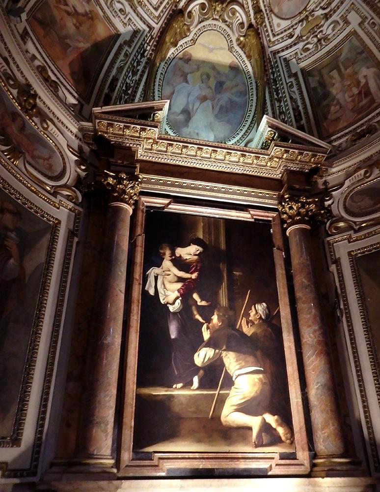 カラヴァッジョの「ロレートの聖母」