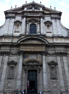 予定していなかった聖イグナチオ教会