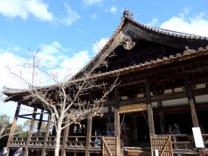 五重の塔の隣にあるのが豊国神社