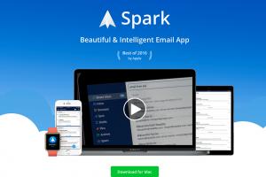 Gmailの代替えで見つけたSpark