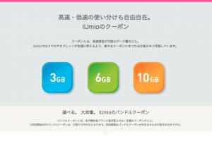 IIJmioのデータ回線