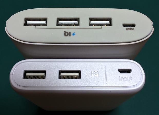 USBポートが3つから2つに減った