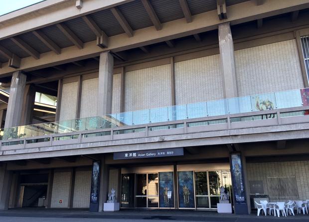 東京国立博物館の最初は、東洋館