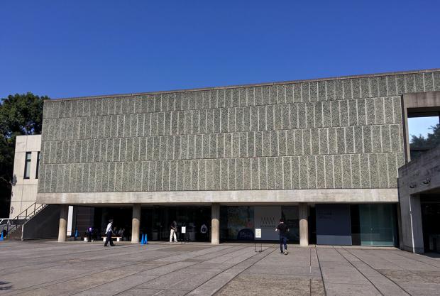 つい最近、世界遺産になったル・コンビュジエ氏設計の国立西洋美術館