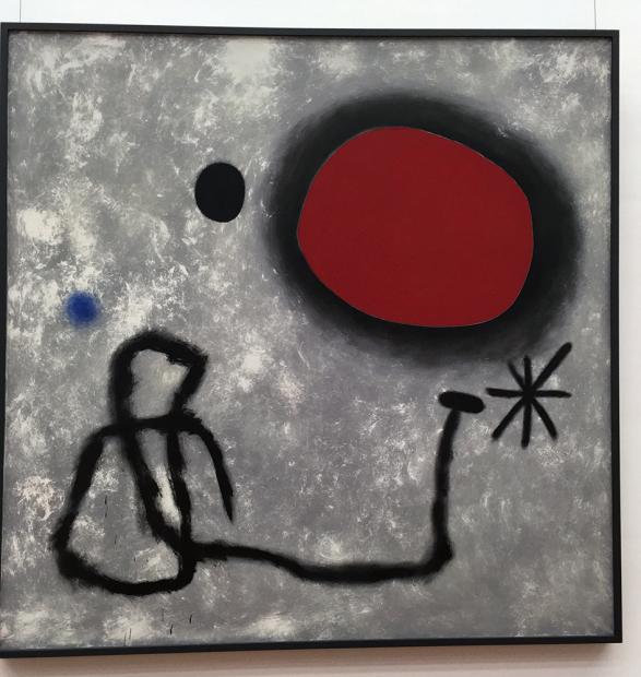 ミロの「絵画」(1953年)