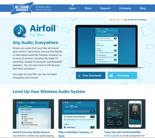 「Airfoil」導入で同時出力が実現!