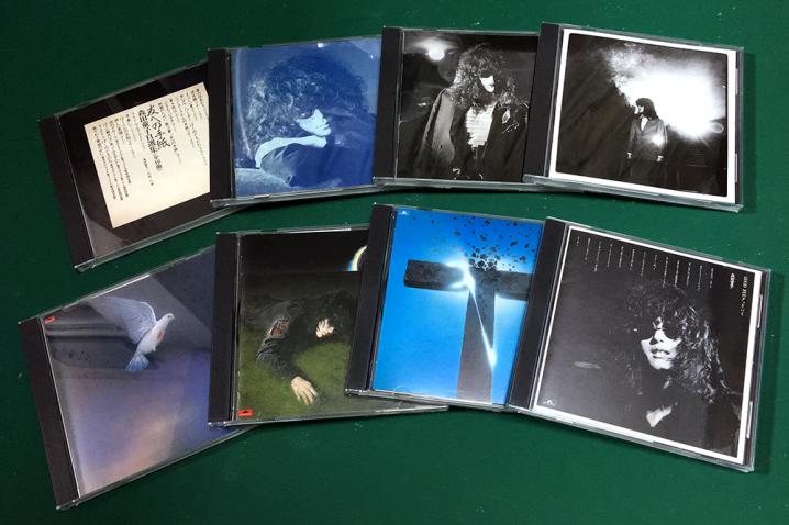 購入したオリジナルアルバム全8タイトル