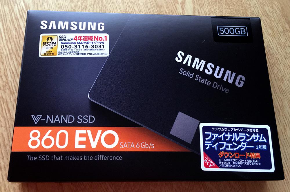 「SAMSUNG」の「860 EVO MZ-76E500B/IT」
