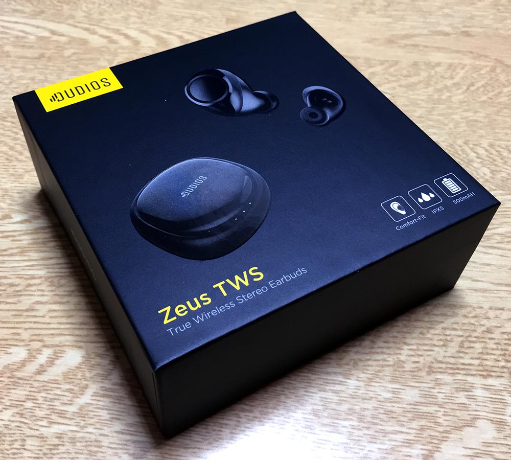 「Dudios」の完全ワイヤレスbluetoothイヤホン「Zeus TWS」