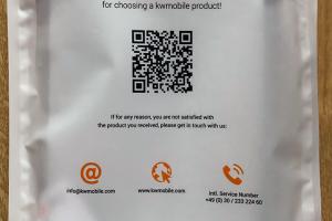 今回購入したのは「kwmobile」製の背面カバー