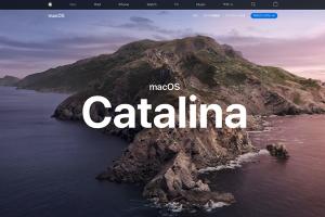 「macOS」の2019年版のバージョン「macOS Catalina」