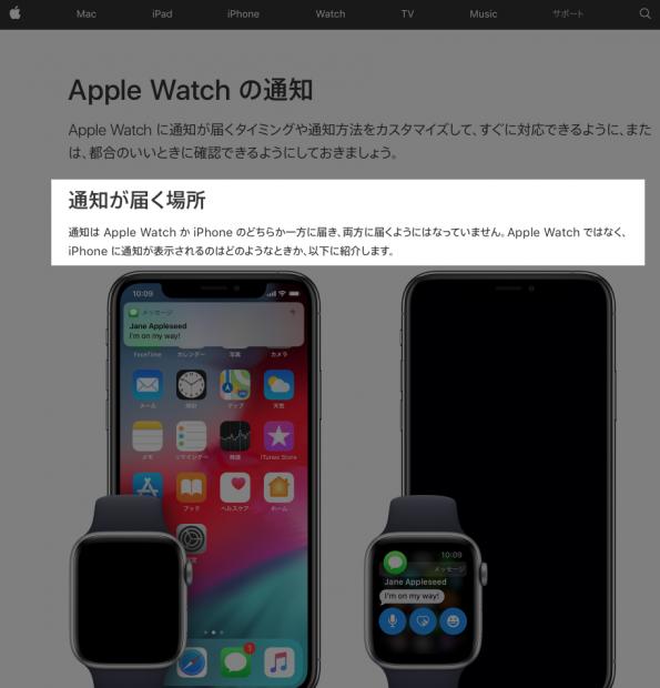 「Apple」のサポートページでメール振動の不通知の原因を知る