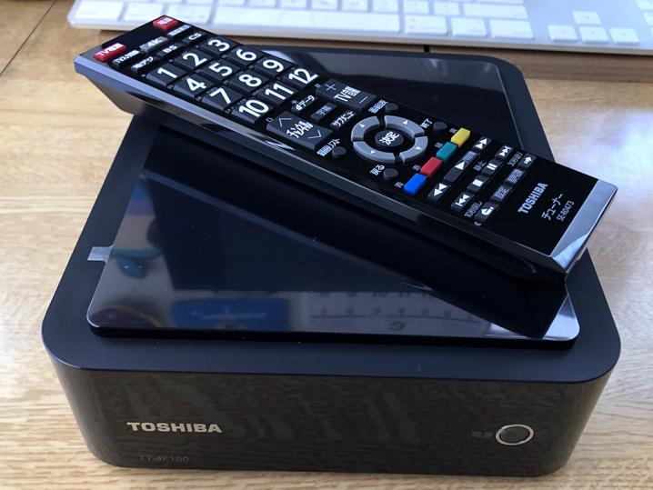 テレビチューナー「東芝 TT-4K100」