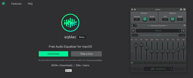 「eqmac2」の次期バージョンのβ版が公開される