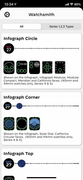 「Infograph Circle」をカスタマイズする