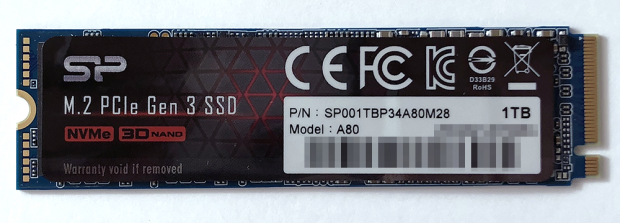 「Silicon Power」の「SP001TBP34A80M28 1TB」