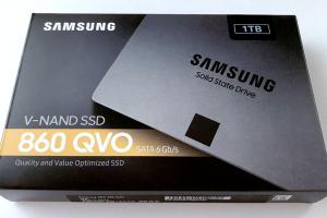 「Samsung」の2.5インチSSD「860 EVO」1TB到着