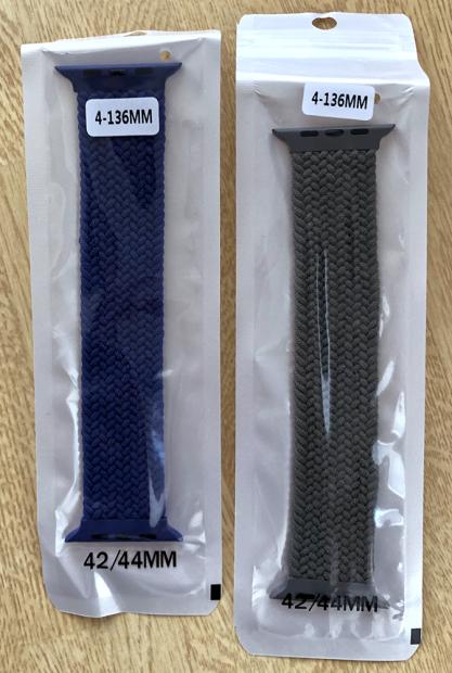 「Ali Express」で購入した「Apple Watch」用バンド。「Amazon」での購入品と同じ梱包