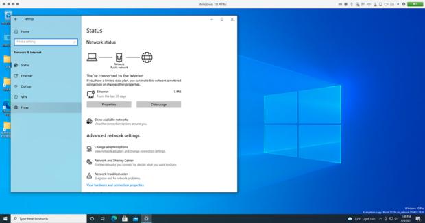 ARM版「Windows 10」が起動