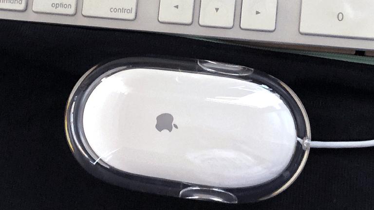 「Apple」の純正USB有線マウス(型番M9035G/A)