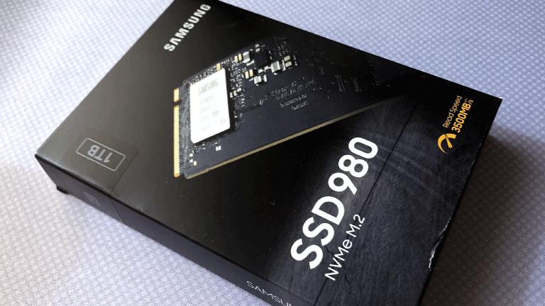 今回購入したのは「Samsung」の「980 1TB」
