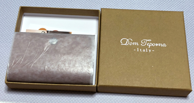 「Dom Teporna Italy]」を開封