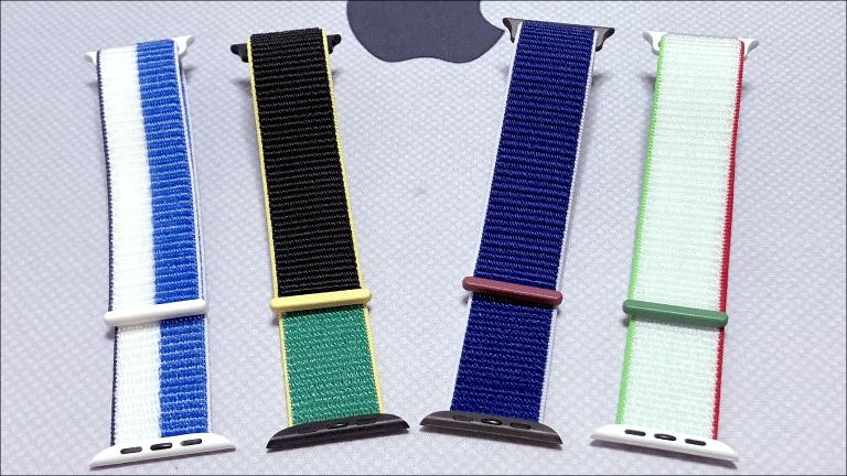 左からギリシア、ジャマイカ、イタリア、メキシコの4種類